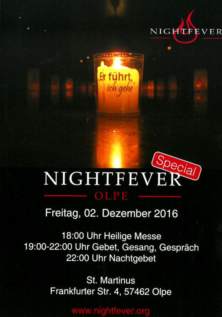 Nightfever Olpe