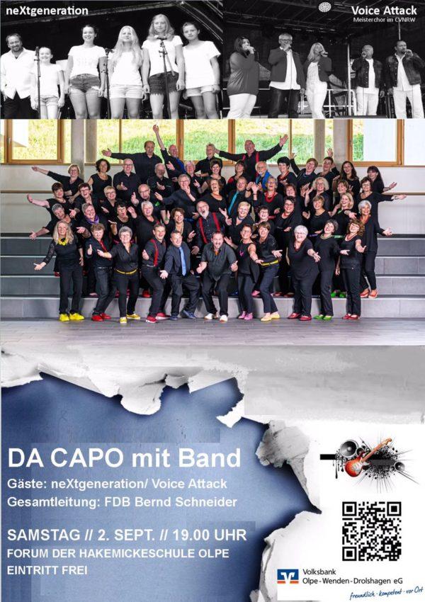 DA CAPO mit Band